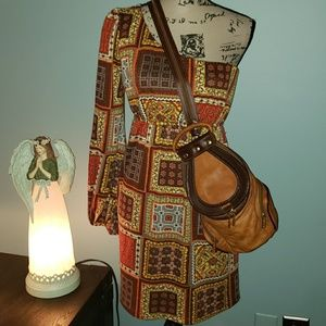 New Judith March One Shoulder Boho Dress